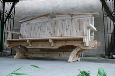 cedar bench - by windofthewoods @ LumberJocks.com ~ woodworking community