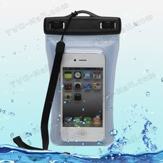 Waterproof Pouch Bag Case for iPhone 4S 4 HTC One X Sony Xperia S LT26i Nozomi