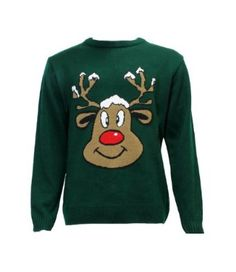 Ugly Christmas sweaters are back in fashion! Pink Trees, Red Tree, Xmas Tree, Novelty Christmas Jumpers, Ugly Christmas Sweater, Office Parties, Reindeer, Merry Christmas, Knitting