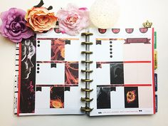 Plan with me week 47 - Hunger Games Hunger Games Mockingjay 2, Free Planner, Planner Stickers, Planer, Theater, Gallery Wall, How To Plan, Frame, Picture Frame