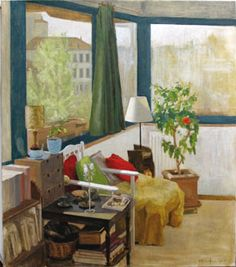 "Elena Arcangeli (Italian, b. 1972) - ""Interior with lamp"", 2007"