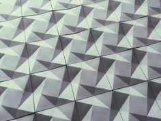 Conservatory of Craft has just released their first offering which allows makers of all skill sets to produce their very own geometric concrete wall tiles. 3d Tiles, Geometric Tiles, Concrete Tiles, Stone Tiles, Wall Tiles, Geometry Pattern, Artificial Stone, Arte Horror, Shape And Form