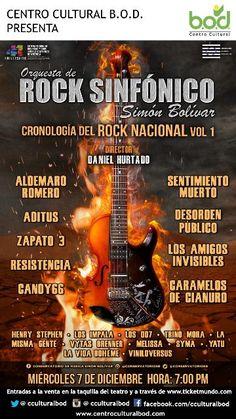 """La Orquesta de Rock Sinfónico Simón Bolívar presenta su:  """"Cronología del Rock Nacional Vol. 1"""" http://crestametalica.com/events/la-orquesta-rock-sinfonico-simon-bolivar-presenta-cronologia-del-rock-nacional-vol-1/ vía @crestametalica"""