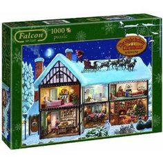 Night Before Christmas 1000 pce Puzzle £7.99 INC VAT #1000+ Piece Jigsaws #Adult Jigsaws #NetPriceDirect