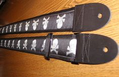 Skull and Crossbones Embroidered Jacquard Handcrafted by ScentedSoftandSewn, $28.99