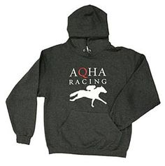 The perfect #hoodie for spring nights at the track! #AQHA #racing quarterhorseoutfitters.com