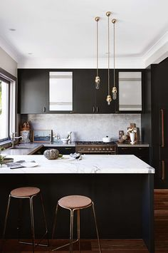 1000 ideas about black marble on pinterest bronze neoclassical and white marble - Best kitchens ever ...