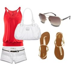 the perfect outfit to show off ur summer tan :), created by swirlybanana