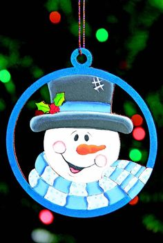 esferas de navidad dibujos - Buscar con Google Christmas Rock, Christmas Snowman, Christmas Crafts, Christmas Decorations, Holiday Decor, Cute Snowman, Snowman Crafts, Snowmen, Pintura Country