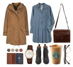 """""""Untitled"""" by hanaglatison ❤ liked on Polyvore featuring Current/Elliott, Woolrich, Jeffrey Campbell, TOMS and Frédérique Constant"""