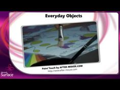 Microsoft Surface and Objects - Check it out