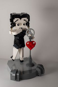 Betty Boop in Legos, so cool!
