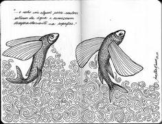 Andrea Joseph Art   The Blog of Innocence: Best Moleskine Art of 2009