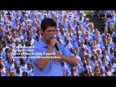 Jason Crabb singing with Brooklyn Tabernacle Choir at Billy Graham Crusade