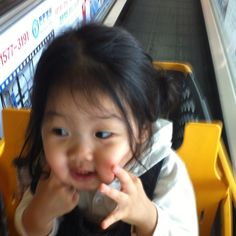 She really loves to go to shopping mall. lol.