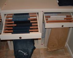 for jeans in the closet :) yep pretty cool!