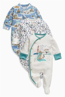 *BNWT* Joules Baby Boys Fife Grey Cars Buses Footless Babygrow Romper Cotton
