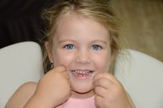 The Oral Hygienist  5 Dec Never too young to floss! Cosmetic Dentistry, Pediatrics, Teeth, Cosmetics, Face, Tooth, The Face, Faces, Facial