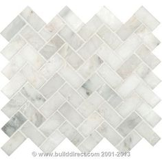 I Do Not Like Chevron But This Clic Herringbone Mayb Bathrooms Pinterest Tile And
