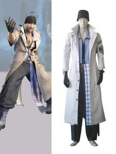 Final Fantasy XIII Snow Villiers Cosplay Outfits Costumes