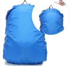 KAMINUO 210T Nylon Waterproof Backpack Rain Cover Rucksack Water Resist Cover for Hiking Camping Traveling Outdoor Activities Capacity: Fit for 60L - 90L Backpack. * Hurry! Check out this great item : Backpacking gear