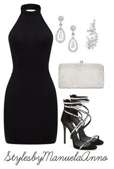 """""""Untitled #139"""" by stylesbymanuelaanno on Polyvore featuring Giuseppe Zanotti and Adrianna Papell"""