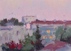 Lena Rivo's Painting Blog: Summer Evening