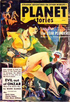 Herman Beeson Vestal : Planet Stories Sep. 1952