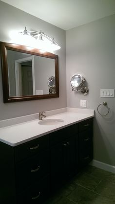 Master Bathroom Fairfax Va, Silestone Yukon Blanco, Grohe Faucet, Design,  Bathroom,