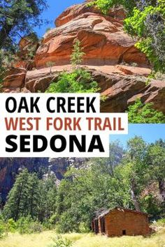 Oak Creek Canyon hiking the West Fork Trail along the creek, in the shade, is the perfect family friendly or solo hike in Sedona. Enjoy the beautiful red rocks while hiking alongside the creek in the forest. A unique Arizona hiking experience, especially for anyone traveling from Phoenix to Sedona. Perfect Flagstaff day trip hike! #besthikes #sedonaaz #sedonaarizona #sedonahikes #sedona Usa Travel Guide, Travel Usa, Travel Tips, Travel Guides, Travel Destinations, Arizona Road Trip, Arizona Travel, Oak Creek Canyon Arizona, West Fork Trail