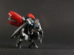 Dropshell -e. by Adrian Florea Lego Mechs, Lego Bionicle, Lego Design, Science Fiction, Lego Boards, Lego Ship, Lego Spaceship, Lego System