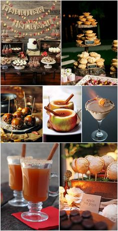 Ideas and Inspiration for your Autumn Wedding - food and drink                                                                                                                                                     More