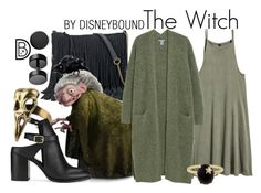 """The Witch"" by leslieakay ❤ liked on Polyvore featuring Bling Jewelry, SONOMA Goods for Life, Miss Selfridge, Andrea Fohrman, disney, disneybound and disneycharacter"