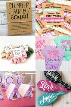 Girls of all ages love a fun slumber party. Think cozy pajamas, sweet treats, dreamy decor, and fun, crafty activities -- all perfect for a simple sleepover. 12th Birthday Party Ideas, Birthday Sleepover Ideas, Girl Sleepover, Sleepover Activities, 13th Birthday Parties, Party Activities, Slumber Party Ideas, Carnival Birthday, 11th Birthday