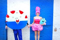 Peppermint Butler. cotton candy princess. Adventure Time. mandylopandy