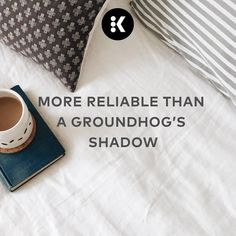 Shadow or no shadow, at least you'll always have a consistently delicious cup of Keurig brewed coffee, each and every time! #coffeequote