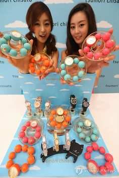 At Lotte Department Store in Jamsil, summer watches designed by Tsumori Chisato were on display!