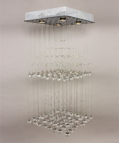 Take a look at this Pyramid Crystal Chandelier by Control Brand on #zulily today! $300 !!