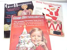 Vintage Christmas Magazines 1960's Good by ThirstyOwlVintage