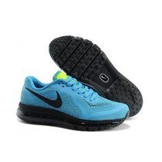 Populær Nike Air Max 2014 Lysblå Sort Herre Sko Skobutik | Gratis Forsendelse Nike Air Max 2014 Skobutik | Nike Air Max Online | denmarksko.com