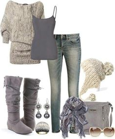 #xmas #gifts #ugg ♥ I love everything about this outfit