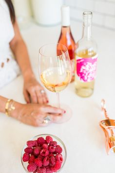 The basics of wine and party planning by LaurenConrad.com