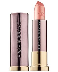 10 Rose Gold Lip Colors You Need in Your Life - Urban Decay Vice Lipstick in Gubby from InStyle.com
