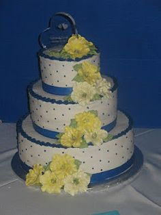 Buttercream with royal icing flowers