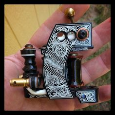 Jason Haney Tattoo Machines Rook liner, hits killer ,will handle many groupings…