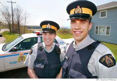 Jason Tree & David Connors, married RCMP couple