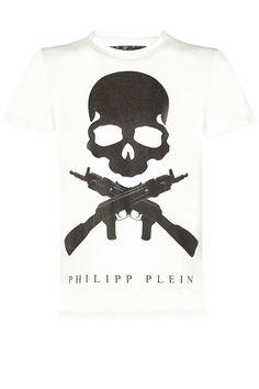 "PHILIPP PLEIN - Official Website | T-SHIRT ""SON OF A GUN"" | PHILIPP PLEIN HOMME"