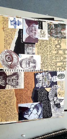 Mark Powell, gcse artist research page