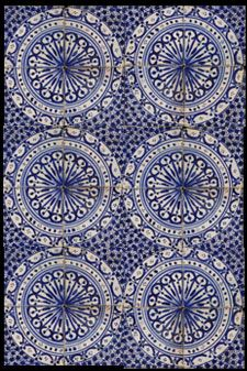 Emery & cie - Tiles - Fez Pottery - Models - Serie 4 Blue - Detail - Page 4 1