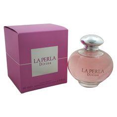 LA PERLA Divina Eau De Toilette Spray for Women 2.6 Ounce * To view further for this item, visit the image link.(It is Amazon affiliate link) #WomenPerfumeIdeas